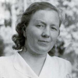 Ursula Astras (Astriene) Portrait, 1946. Age 34.