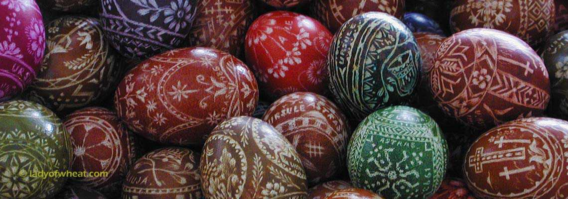 Lithuanian Easter eggs by Ursula Astras © ladyofwheat.com