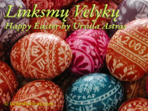 Lady of Wheat Celebrates Easter - Linksmu Velyku