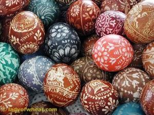 Ursula Astras Lithuanian Easter Eggs 95c © ladyofwheat.com